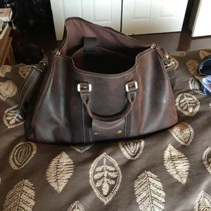 Other - Leather Weekender Bag